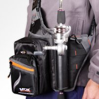 Water Resistant Fishing Bag with Rod Holder